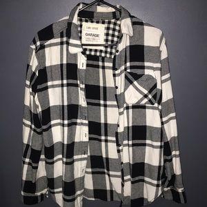 Checkered Boyfriend Flannel